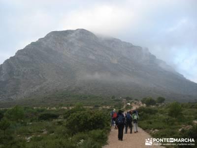 Parque Natural El Montgó y La Catedral del Senderismo;historia del senderismo senderos naturales